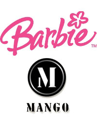 barbie, mattel, mango, t-shirts