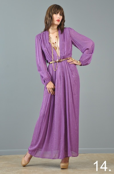 14-vtg-70s-victor-costa-metallic-plunging-draped-goddess-maxi-gypsy-dress-gown