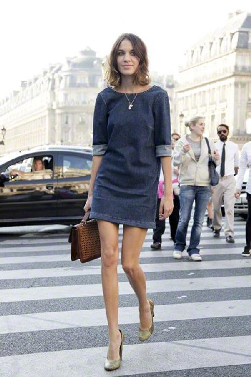 Изображение 1 из Джинсовое платье-рубашка New Look